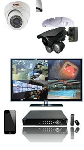 Pack Freedôme, caméras traitées titane vision IR, 700 LTV, enregistreur numérique, écran TV LED