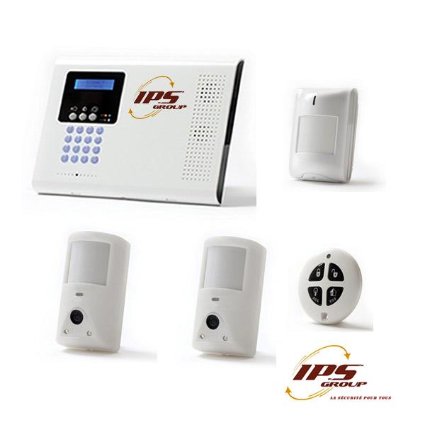Alarme IPS Group, Caméra de sécurité